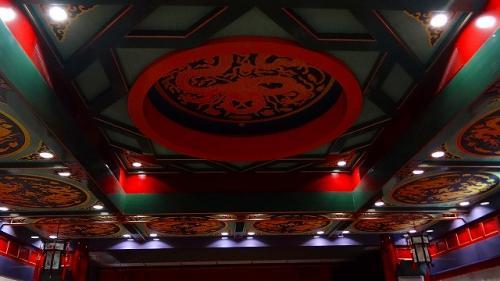 庭園紀行(18)・・・道の駅 中国庭園燕趙園 雑技団の演技