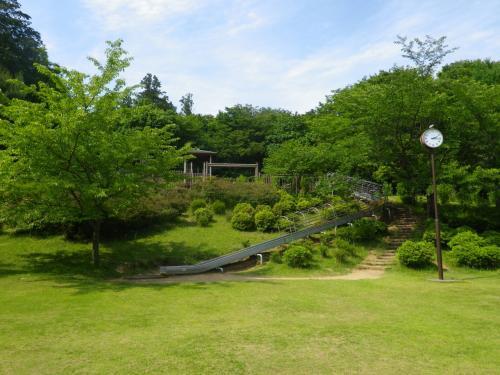 茨城境(道の駅・ふれあいの里)と旧三和町ふるさとの森