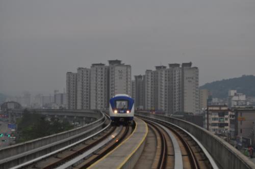 2013年6月韓国鉄道旅行4(龍仁軽...