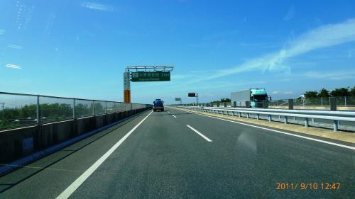 2011 久津間海岸の電柱~中の島大橋~東京湾アクアライン