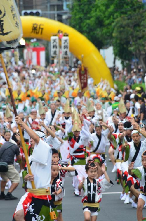 東京の夏の終わりの風物詩  高円寺阿波踊り 2013