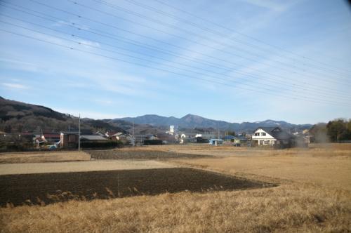 穏やかな天気で、「寄居」へ低山ハイク(2013/02/22)