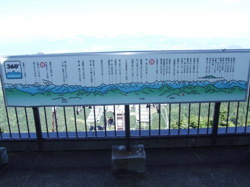 夏の志賀高原を行く!(3)横手山山頂へ。