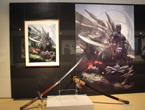 二次元の日本刀展 現代十番勝負 長船刀剣博物館