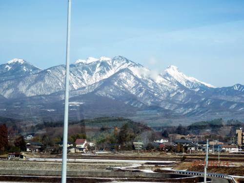 冬の信州・飛騨の旅<1> (妻籠宿・白川氷柱群)