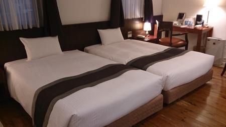 ホテルアリエッタへお泊り。