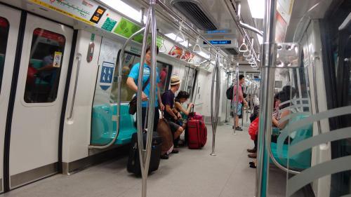 【2014.01】シンガポール 開業したばかりのMRTダウンタウン線に乗ってみた 他