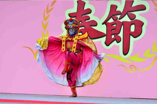 第8回 名古屋中国春節祭 前半(甘粛省芸術団の千手観音)