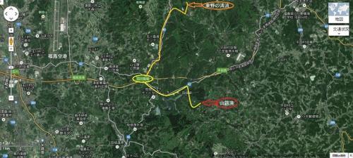 ◆氷結・東野の清流&大滝川渓流