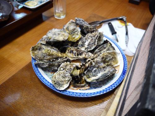 穴水町で牡蠣を食べる~
