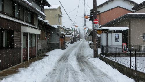 冬の長岳寺