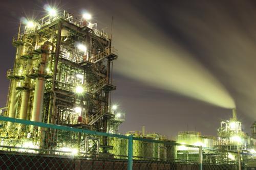 メタリックな世界へ☆川崎工場夜景