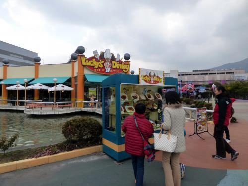29.年末年始の九州旅行 元日のスペースワールド テーマレストラン ラッキーズダイニングの昼食