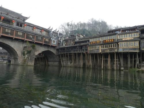 中国南部・少数民族の村々と鳳凰古城を訪ねる。鳳凰古城!