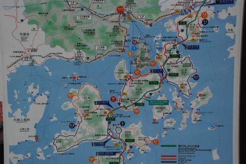 しまなみ海道 多々羅大橋を歩いて大三島へ