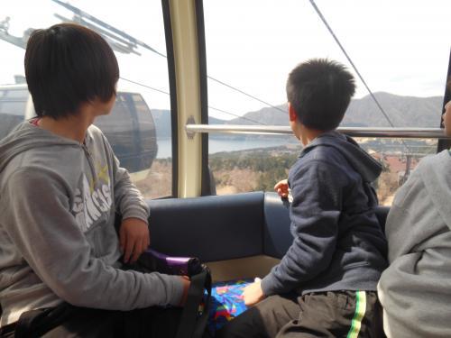 子どもたちと小学校卒業旅行に行きました。