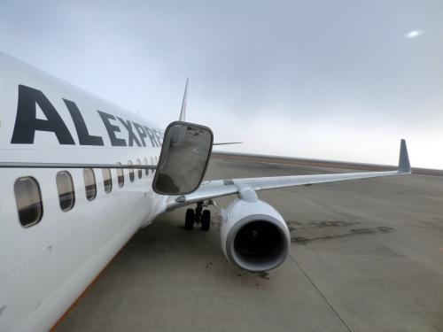22.年明けの沖縄~鹿児島~大分出張 大分~羽田JALの翼の空の旅