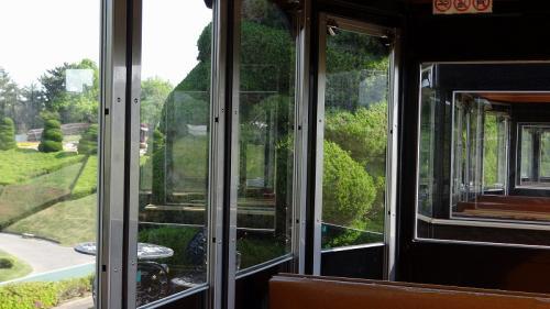 浜名湖花博2014(13)・・・浜松フラワーパーク② フラワートレインに乗り、白藤園まで