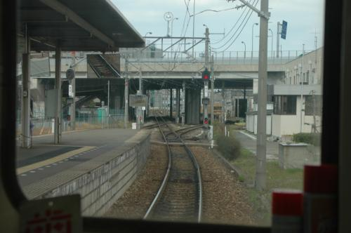 西鉄宮地岳線 廃止直前の前面展望