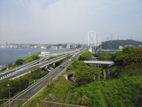 めかり公園から関門海峡を眺めよう~唐戸市場へ ※福岡県北九州市