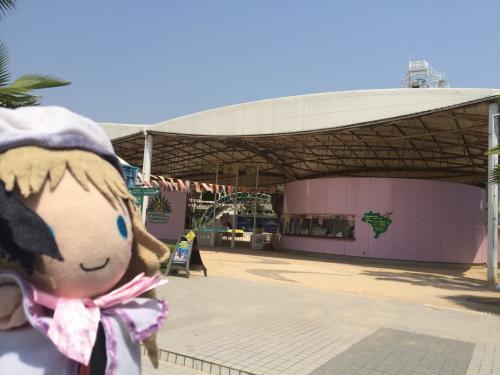 「ブラジルスキ?」と、ほぼ貸し切り状態の遊園地を楽しんだのです!