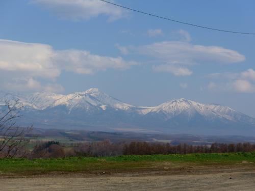 富良野・比布・羽幌・増毛ドライブ3-深山峠で十勝岳を眺める,良佳プラザ遊湯ぴっぷ,士別へ