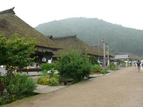 2009.08会津旅行(1)  ~雨の大内宿
