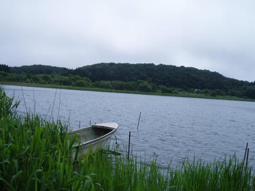 小川原湖の北側、内沼にある湖畔食堂を訪ねて。