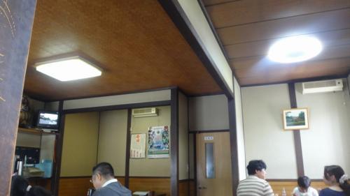 乳白色の温泉紀行(06)・・・千秋庵 そば店 で昼食。