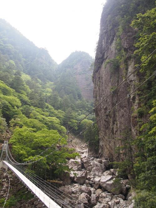 滝メグラーが行く160 秘境・大杉谷を歩く(2) 日本の滝百選・七ツ釜滝攻略