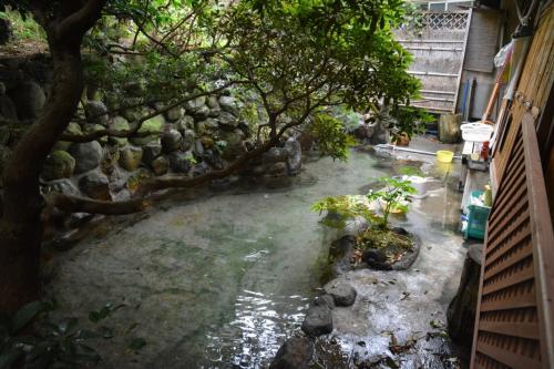 7月の伊豆 伊東宇佐美にある、いなばさんちの温泉たまご うなぎ浜名亭のランチ 2014年7月