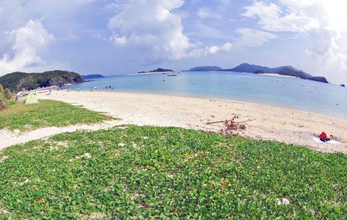 座間味島(阿嘉島+無人島)の自然・絶景を堪能(*'▽'*)♪ 親子でキャンプ4泊5日