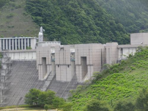 奥大井・長島ダムと大井川鐡道千頭駅
