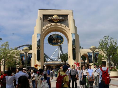 """""""人間界""""を出て『ウィザーディングワールド・オブ・ハリー・ポッター(The Wizarding World of Harry Potter) 』 (ユニバーサル・スタジオ・ジャパン)の世界へ。。  ~そびえ立つ「ホグワーツ城」が見たい♪~"""