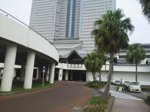 友人の還暦祝いにシェラトングランデオーシャンリゾートホテルに ※宮崎県宮崎市