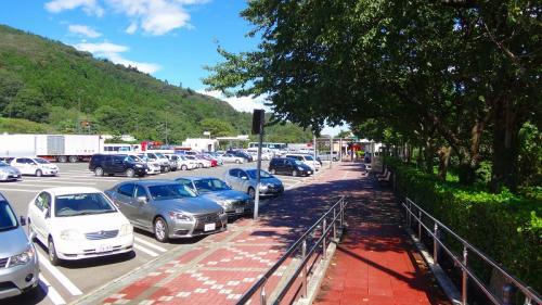 三陸鉄道乗車の旅(68) 福島県国見町 東北道 国見サービスエリアで昼食