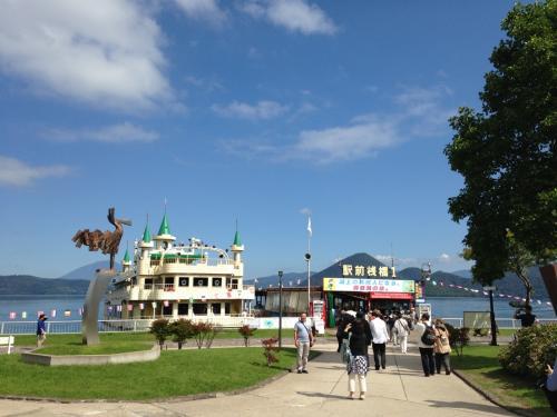 サンプリンセス北海道周遊クルーズ親子旅⑦憧憬の洞爺湖クルーズ♪そして、水辺のメルヘン…☆