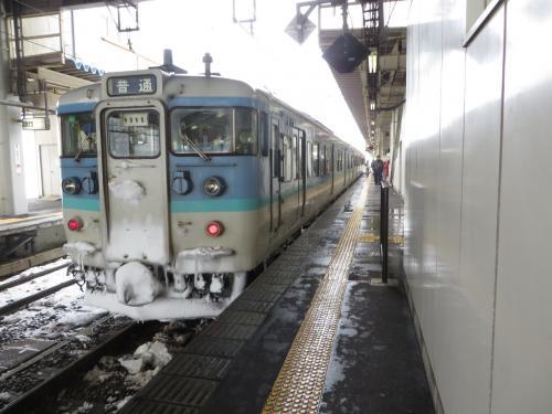 2015年初め「片道きっぷで行く北陸」(5)<第三セクターのルートを辿って(JR東日本)>