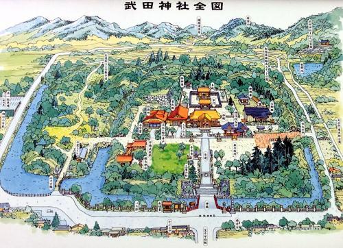 長野・雪の昼神温泉