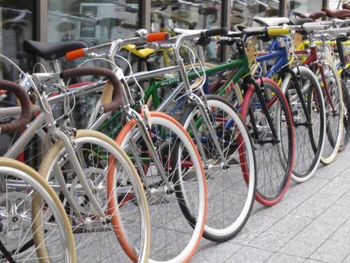 こんなところで自転車を買える ...