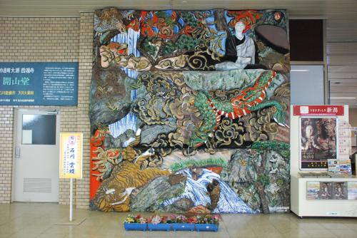 小千谷の錦鯉・小千谷縮と石川雲蝶の彫刻を訪ねる旅(新潟)