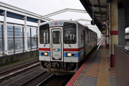 2015年3月おとなびパスの旅1-4(若桜鉄道線往復)