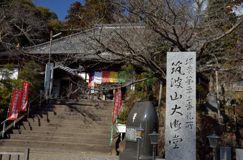 早春の筑波山へ (2)登山編
