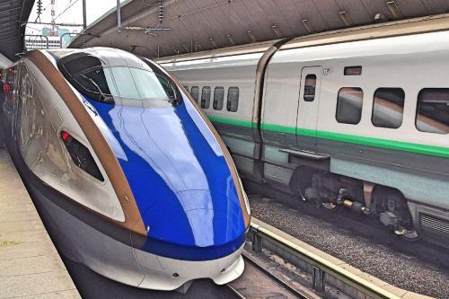 開業したての北陸新幹線に乗って、黒部宇奈月温泉へ。