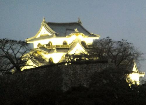 彦根城ひこにゃんと、城下町散策 1