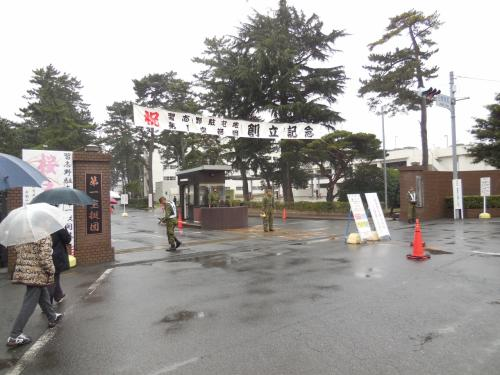 習志野駐屯地の桜まつりに行く(陸上自衛隊・第一空挺団)