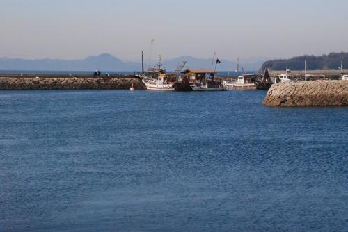 真鍋島の魚料理が美味い島宿「三虎」を訪ねて(岡山)