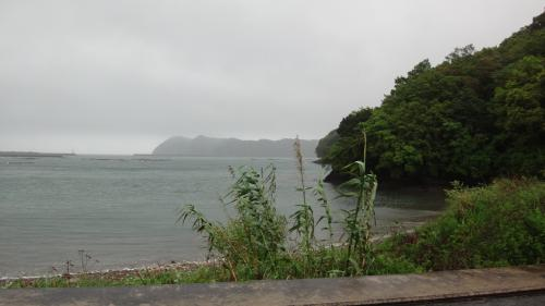 淡路島・東四国庭園めぐり(20) 雨中ドライブ・・・道の駅宍喰温泉