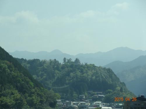越前 九頭竜湖から大野城へ