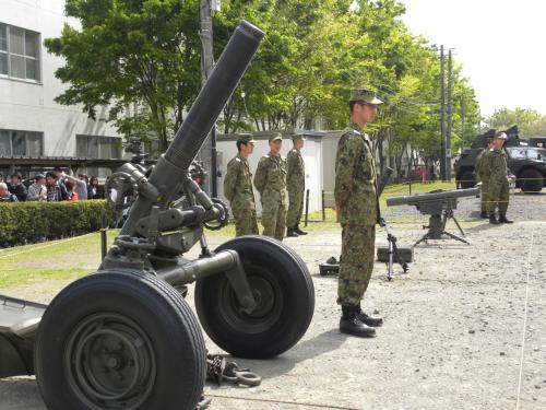 陸上自衛隊練馬駐屯地の創立記念行事 に行ってきました